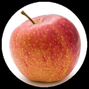 Figura w kształcie jabłka.