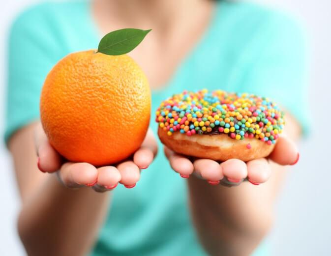 pomarańczowa skórka - metafora